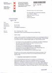 20130704 - Brief DB - Zwaarwegend advies DB stadsdeel West verhoging parkeervergunningen
